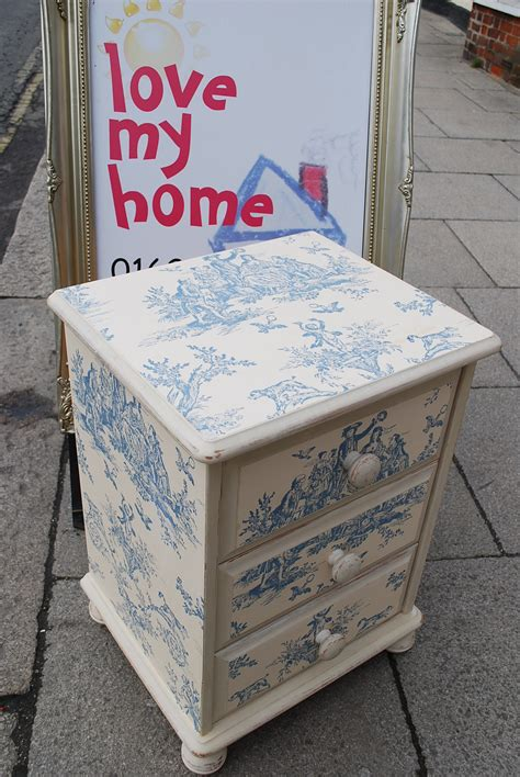 Decoupage Paint - painted furniture my home