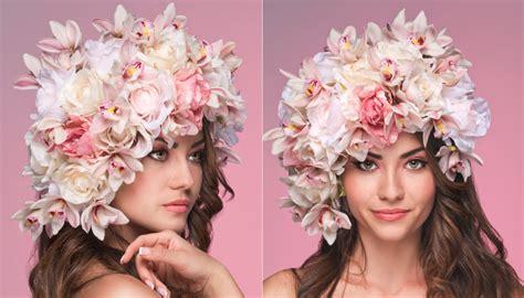 fiori capelli sposa acconciature sposa fiori tra i capelli nuova tendenza