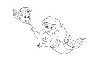 Baby Flounder Coloring Pages Sketch Page sketch template