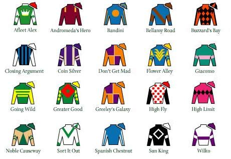 kentucky derby colors from the archive jockey silks and spectators worn through