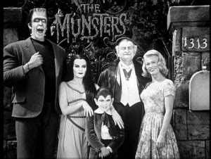 60 s tv shows munsters were not monsters eccentric shadows