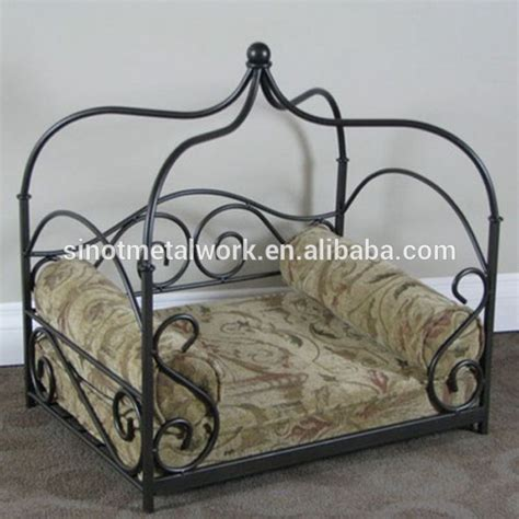 metal frame dog bed luxury metal frame canopy dog beds victorian custom