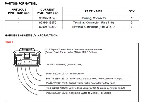 Tundra Trailer Wiring Harness Electrical Wiring Diagram