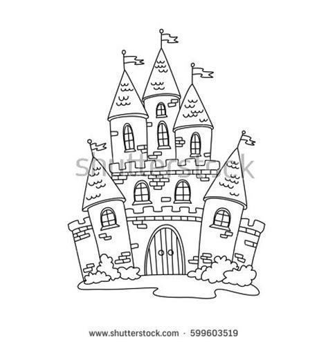 doodle kingdom how to make castle children doodles stock images royalty free images