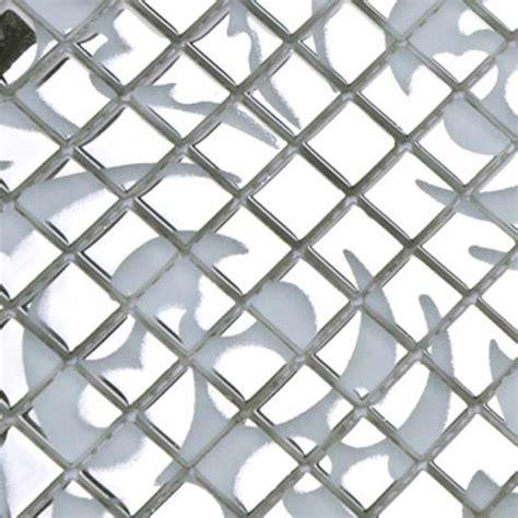 tile wall murals silver glass mosaic tile wall murals backsplash plated