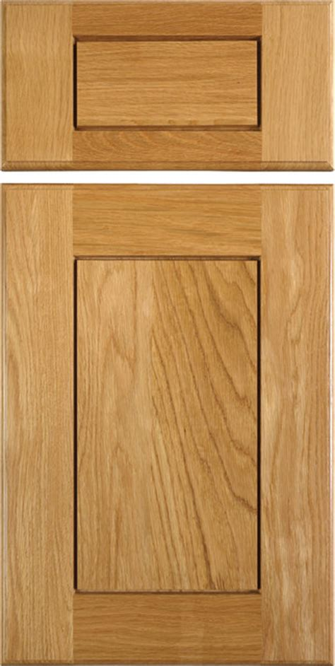 White Oak Cabinet Doors Shaker Style Cabinet Doors In White Oak Traditional Kitchen Cabinetry Other Metro By