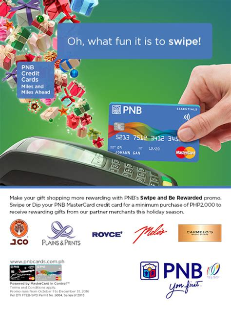 Pnb Gift Card - swipe be rewarded w pnb philippine freebies promos contests and more