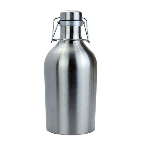swing top growlers 64oz stainless steel growler w swing top lid