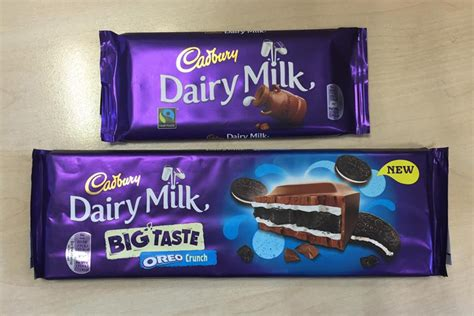 cadbury releases giant oreo toffee nut  triple
