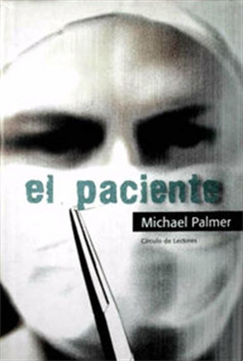 libro el paciente el paciente palmer michael