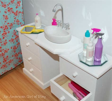 american girl bathroom an american girl at play bathroom sink made out of