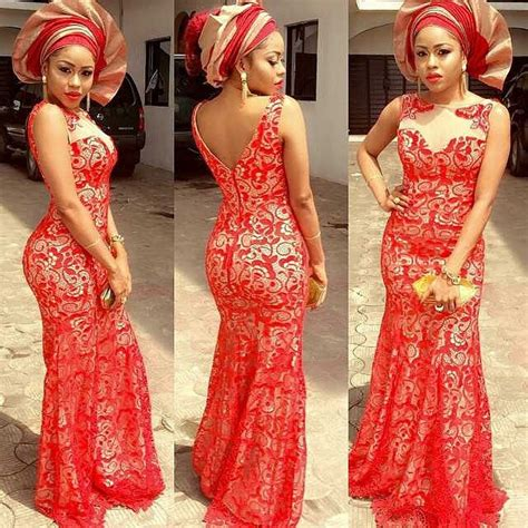 nigerian wedding colour in 2016 extravagance fitted aso ebi styles amillionstyles com