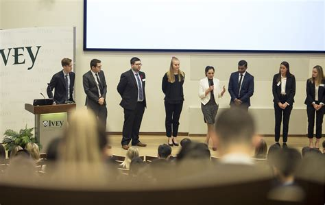 Ivey Mba Class Of 2017 by Hba Students Apply Class Knowledge To Real World Cases