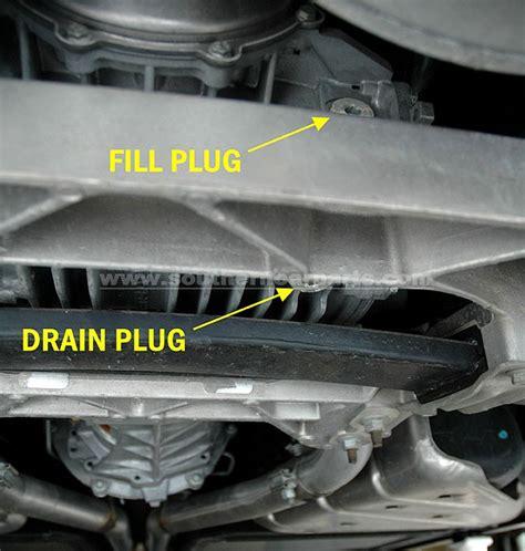 auto repair manual online 2008 chevrolet corvette transmission control corvette c6 diy differential oil change