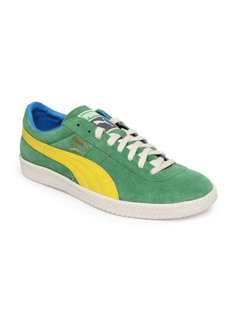 football casual shoes buy green brasil football vntg casual shoes