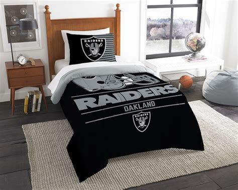 Raiders Bed Set Nfl Oakland Raiders Comforter Set Buy At Team