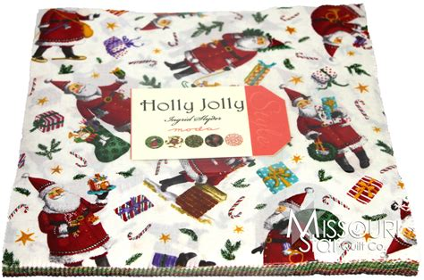 Holly Jolly Layer Cake   Ingrid Slyder   Moda Fabrics