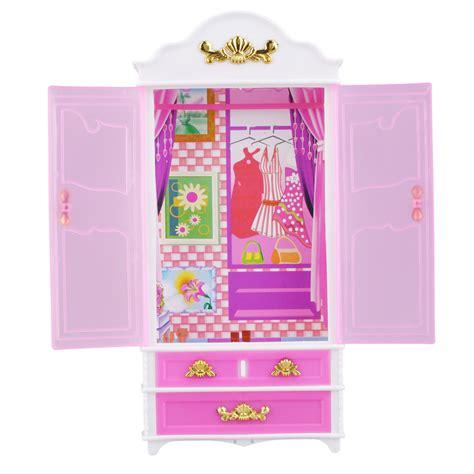 Pink Wardrobe Closet by Pink Closet Wardrobe For Princess Doll House Bedroom