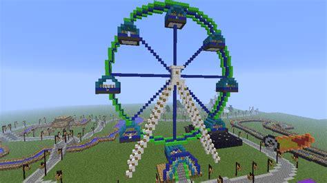 theme park minecraft minecraft amusement park now with dl 700 downloads
