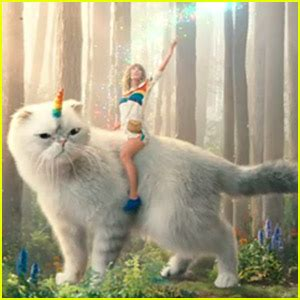 taylor swift cat advertisement taylor swift her cat olivia star in funny commercial for