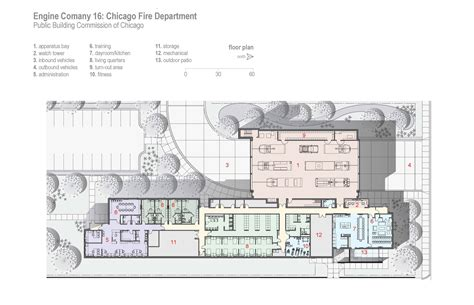 company floor plan gallery of engine company 16 firehouse dlr group 8