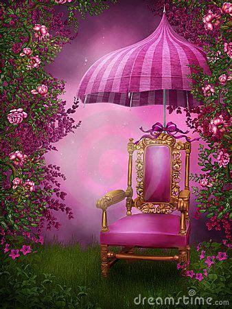 pink chair  umbrella studio background images