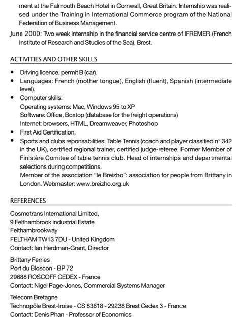 Exemple de CV en anglais commenté pour évoluer dans la