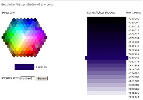 html color code picker w3schools color