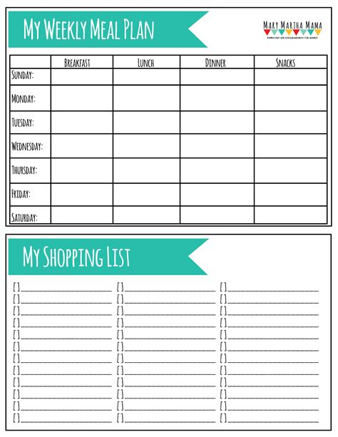 printable meal planning worksheets meal plan worksheet wiildcreative