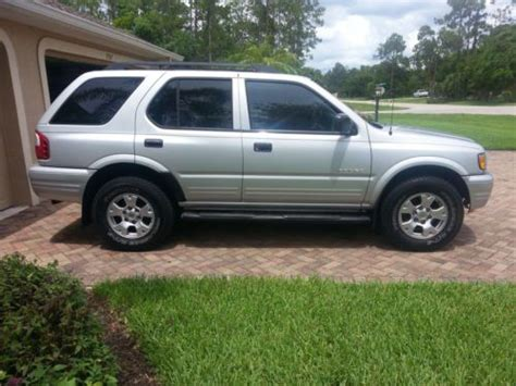 how to sell used cars 2003 isuzu rodeo lane departure warning find used 2003 isuzu rodeo original florida car in naples florida united states for us 6 500 00