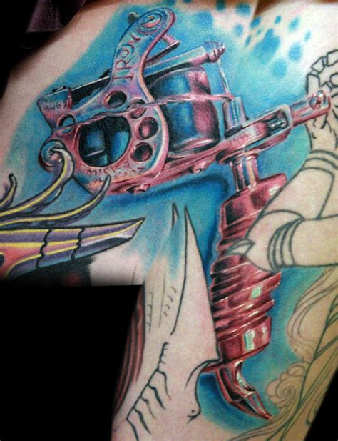 tattoo machine tattoo meaning monicas tattoo machine by tat2istcecil on deviantart