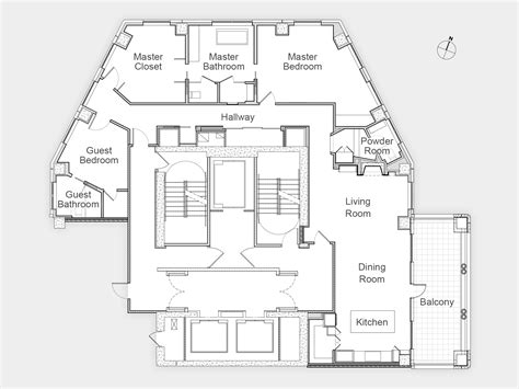 hgtv home plans presenting the floor plan and construction site photos