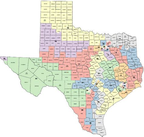 texas senate districts map map texas congressional districts swimnova