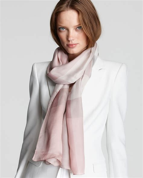 burberry mega check satin silk scarf bloomingdale s