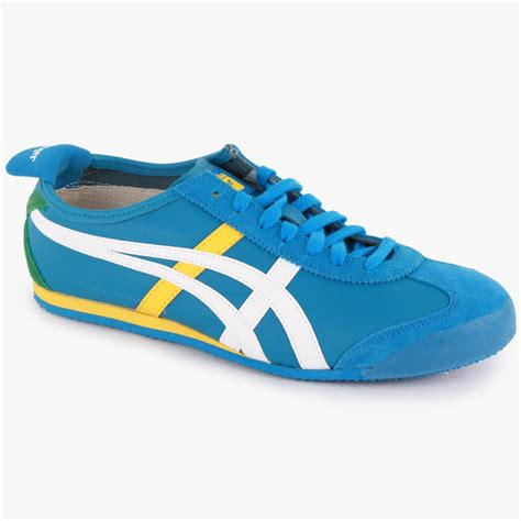 Jual Onitsuka Tiger Mexico 66 Original onitsuka tiger mexico 66 mens leather suede trainers blue white