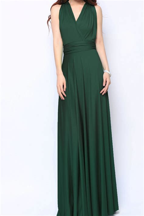 Mint Color by Forest Maxi Convertible Bridesmaid Dress Infinity Dresses
