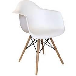 cmp fauteuil scandinave oslo blanc pas cher