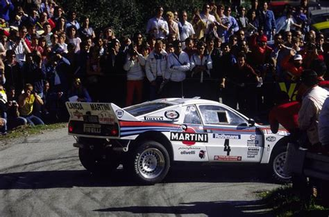 boat crash corsica rally tour de corse 1985 attilio bettega lancia rally 037
