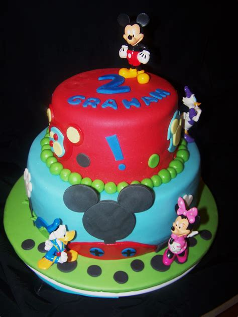 mickey mouse kuchen mickey mouse clubhouse tiered cake beth s