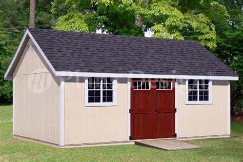 backyard storage shed plans    gable roof dg