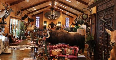 Home Interior Design Program by These 11 Hunters Trophy Rooms Are Completely Unbelievable