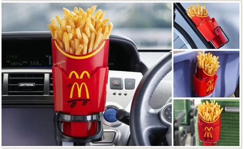 French Fry Cup Holders Free From McDonald's Japan
