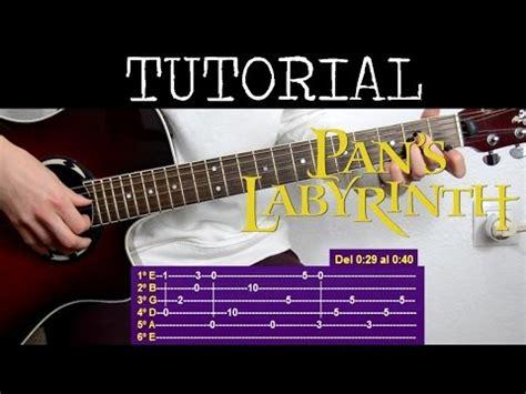 tutorial virtual guitar mercedes lullaby tab pan s labyrinth el laberinto del