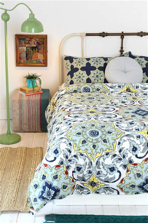 magical thinking bedding magical thinking azo medallion duvet cover contemporary