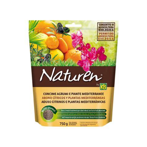 concime per limone in vaso concime agrumi e piante mediterranee 750g piante da