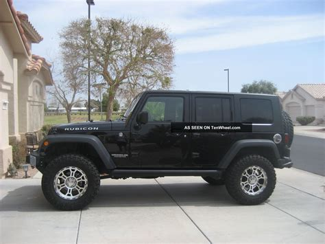 Jeep Wrangler Unlimited Towing Jeep Rubicon Unlimited 2010 4 Dr Ht Tow Ready Well