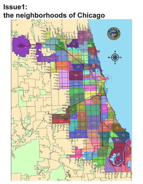 chicago map with neighborhoods 301 moved permanently