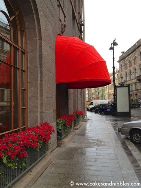 red awnings awning red awning