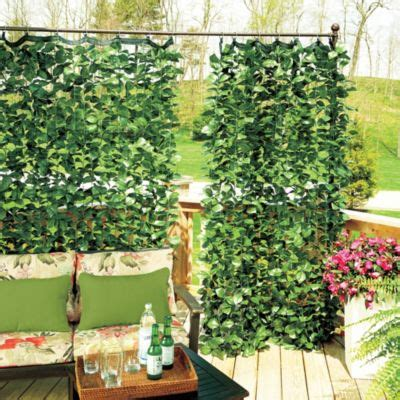 ivy curtains faux ivy privacy curtain improvements catalog