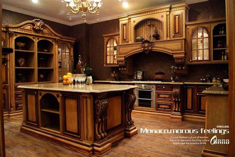 High End Kitchen Cabinets | china high end solid wood kitchen cabinet mf kc14